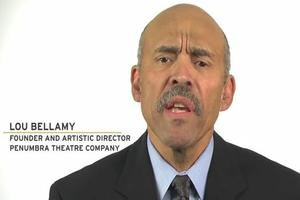 STAGE TUBE: I AM THEATRE Project- Lou Bellamy
