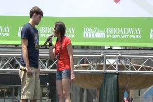 BWW TV: THE ADDAMS FAMILY Plays Broadway in Bryant Park 2011!