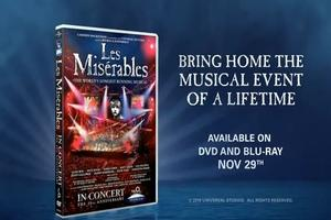 STAGE TUBE: LES MISERABLES DVD Preview!