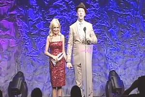 STAGE TUBE: Chenoweth, Hayes, et al. at the GLAAD Media Awards!