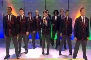 STAGE TUBE: GLEE's Warblers Sing on Today Show