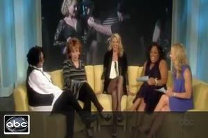 STAGE TUBE: Christie Brinkley Talks Roxie Hart on THE VIEW