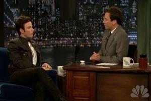 STAGE TUBE: GLEE's Chris Colfer Visits JIMMY FALLON