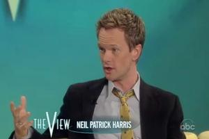 STAGE TUBE: Neil Patrick Harris Talks Tonys on THE VIEW