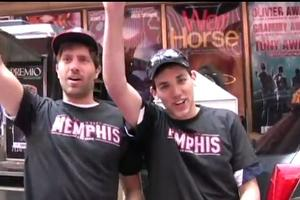STAGE TUBE: MEMPHIS Holds Shubert Alley BBQ