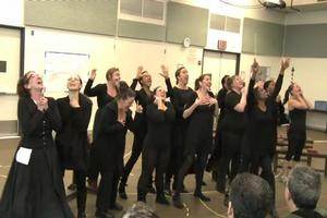 STAGE TUBE: SISTER ACT Cast on Menken's Music