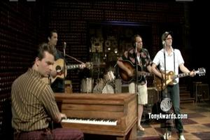 BWW TV: TONYS unplugged - Million Dollar Quartet - Rock Island Line