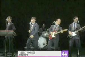 STAGE TUBE: JERSEY BOYS Visit WNBC's LX-TV