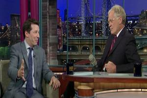 STAGE TUBE: Sean Hayes on David Letterman