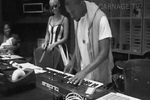 STAGE TUBE: Kanye Samples WICKED!