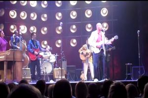 STAGE TUBE: Guy Davis Takes the Stage with MILLION DOLLAR QUARTET
