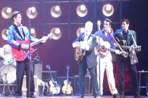 STAGE TUBE: Larry Gatlin Takes the Stage with MILLION DOLLAR QUARTET