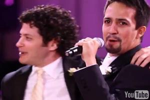 STAGE TUBE: HEIGHTS Friends Toast 'To Life' at Manuel's Wedding