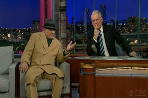 STAGE TUBE: LOMBARDI's Dan Lauria Visits David Letterman