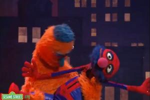 STAGE TUBE: Sesame Street Takes on SPIDER-MAN with SPIDERMONSTER!