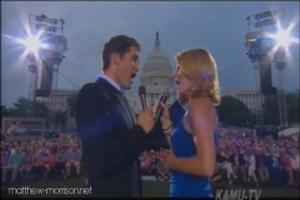 STAGE TUBE: Matthew Morrison & Kelli O'Hara Sing WEST SIDE STORY on Capital Hill for A CAPITOL FOURTH!
