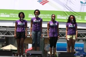 BWW TV: BABY IT'S YOU Launches Broadway in Bryant Park!