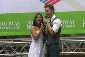 BWW TV: WEST SIDE STORY Plays Bryant Park!