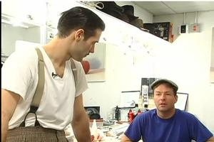 STAGE TUBE: THE 39 STEPS Brings Time Warner Cable's On the Beat Backstage