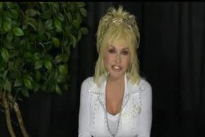 STAGE TUBE: Special Message from Dolly Parton
