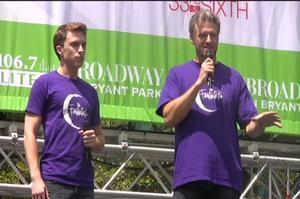 BWW TV: FANTASTICKS Plays Broadway in Bryant Park!
