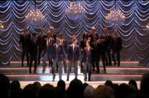 STAGE TUBE: GLEE's Criss Sings Train's 'Hey, Soul Sister'