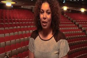 STAGE TUBE: Jordin Sparks Backstage At IN THE HEIGHTS