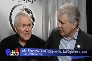 Broadway Beat Tony Interview Special: John Kander and David Thompson!