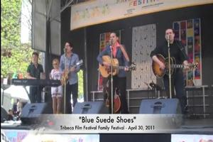 STAGE TUBE: MILLION DOLLAR QUARTET Performs at Tribeca