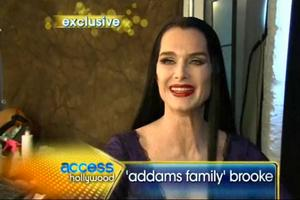 STAGE TUBE: First Look at Brooke Shields as Morticia in THE ADDAMS FAMILY!