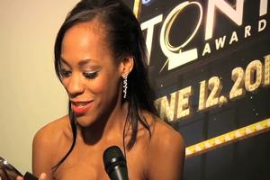 BWW TV: 2011 Tony Awards Winners Circle - Nikki M. James 'This is so f**ing COOL!'