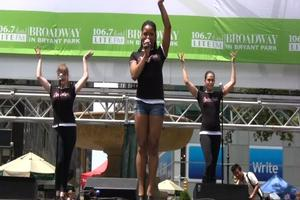 BWW TV: SISTER ACT Plays Broadway in Bryant Park!