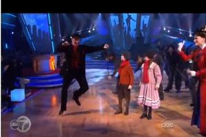STAGE TUBE: The Cast of Mary Poppins Performs On Dancing With The Stars
