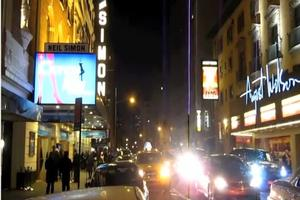 STAGE TUBE: Broadway Lights Dim in Memory of Elizabeth Taylor