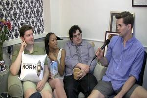 BWW TV: Backstage with Richie Ridge (Exclusive) - The Tony Nominated Stars of THE BOOK OF MORMON!