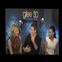 STAGE TUBE: Interviews from the GLEE: 3D Movie Premiere