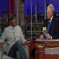 STAGE TUBE: Samuel L. Jackson Talks THE MOUNTAINTOP with Letterman