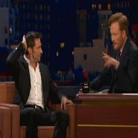 STAGE TUBE: Hugh Jackman Visits CONAN!