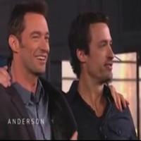 STAGE TUBE: Hugh Jackman Meets His Twin on ANDERSON