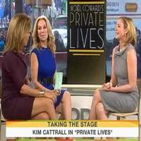 STAGE TUBE: Kim Cattrall Talks PRIVATE LIVES on TODAY SHOW