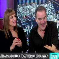 STAGE TUBE: Patti LuPone & Mandy Patinkin Visit NEW YORK LIVE