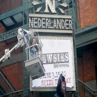 STAGE TUBE: NEWSIES Hits Broadway - See the Marquee!