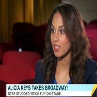 STAGE TUBE: Alicia Keys Talks STICK FLY on GMA