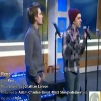 STAGE TUBE: The Cast of RENT Performs on the Early Show!