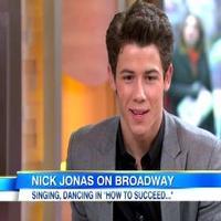 STAGE TUBE: Nick Jonas Talks HOW TO SUCCEED on 'Good Morning America'