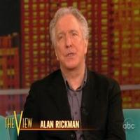 STAGE TUBE: Alan Rickman Talks SEMINAR on THE VIEW!