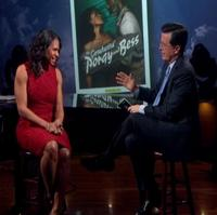 STAGE TUBE: Audra McDonald Visits THE COLBERT REPORT!