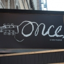 Up On the Marquee: ONCE!