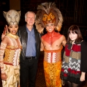 Photo Flash: James Cameron Visits THE LION KING