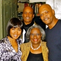 Photo Flash: Mrs. Ralph Abernathy Visits THE MOUNTAINTOP